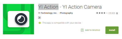 Free Download YI Action 3.1.8 APK for Android