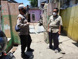 Jaga Kamtibmas Kondusif, Bhabinkamtibmas Pattingalloang Tingkatkan Patroli