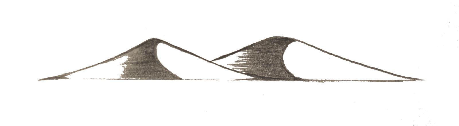 Le Chameau Bleu - icône dune de sable
