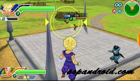 Dragon Ball Z Tenkaichi Tag Team PPSSPP