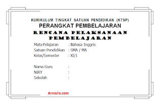 Download RPP KTSP Bahasa Inggris Kelas XI SMA
