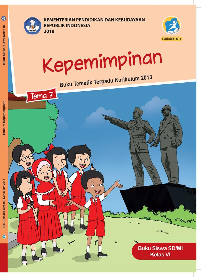 Buku Siswa Tematik SD Kelas VI Tema 7 Kepemimpinan