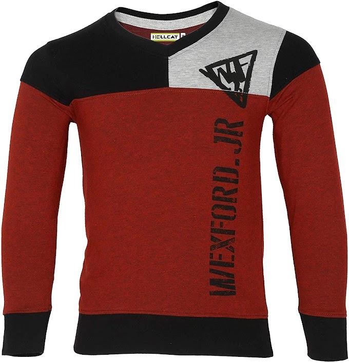 Hellcat Boys Full Sleeve Fashion Tshirt