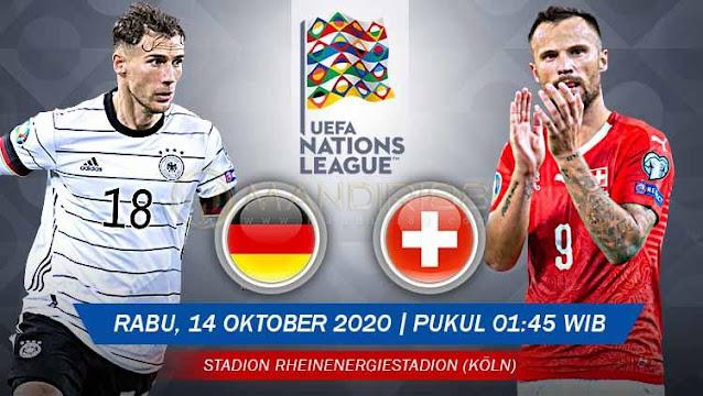 Prediksi Jerman Vs Swiss, Rabu 14 Oktober 2020 Pukul 01.45 WIB @ Mola TV