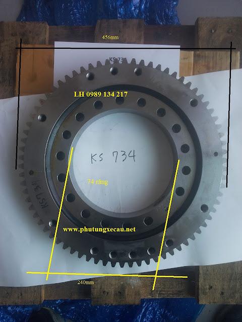 Mâm xoay cau kang lim 3 tấn KS734-M0516775-SISO456-2
