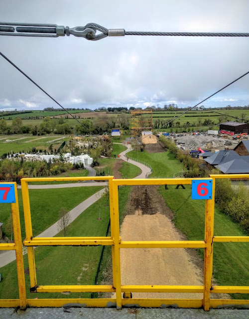 Tayto Park - Top of the Zip Line