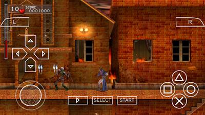 تحميل لعبة Castlevania: The Dracula X Chronicles لأجهزة psp ومحاكي ppsspp