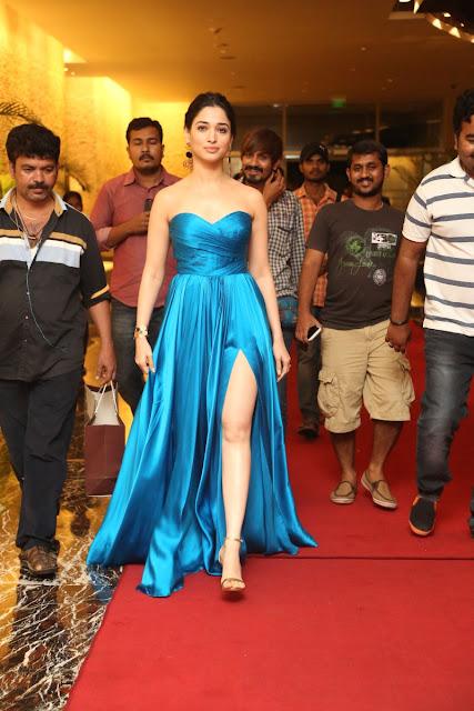 tamanna hot stills at Abhinetri movie audio launch