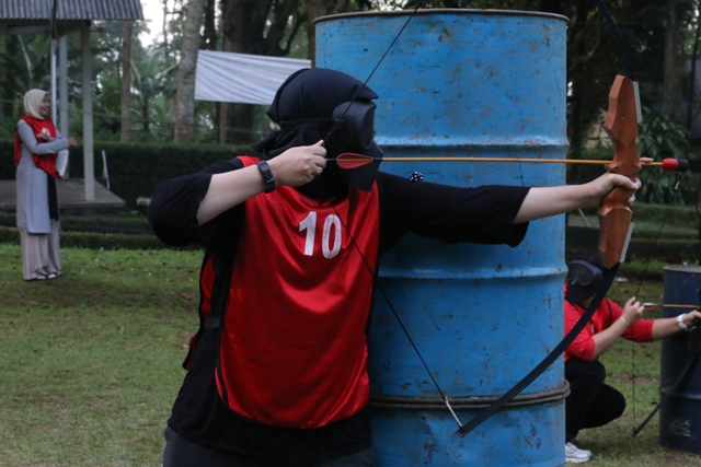 Archery Battle D'Emmerick Adventure Salatiga