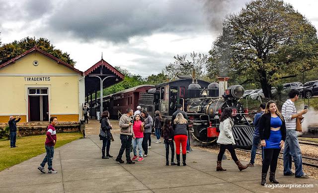 Estação Ferroviária de Tiradentes, Minas Gerais