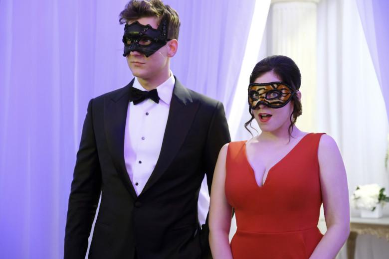 Fotografía de Nathaniel y Rebecca en 'Crazy Ex-Girlfriend'
