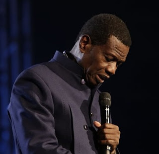 The General Overseer of the Redeemed Christian Church of God (RCCG) Worldwide, Pastor Enoch Adejare Adeboye,