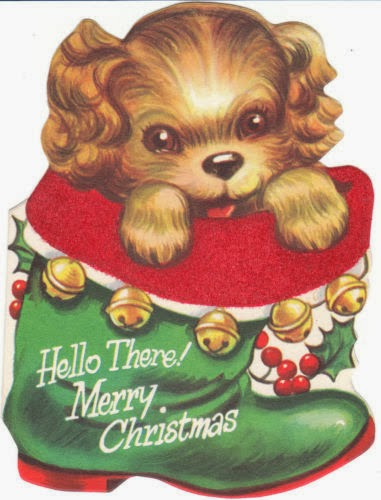 View From The Birdhouse Doggone Cute Dog Christmas Cards