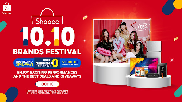 10 Exciting Things to Look Forward to at 10.10 Brands Festival,Shopee's Biggest Brands Sale of the Year