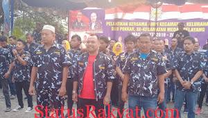 Pelantikan AMPI Kecamatan Medan Selayang,Kelurahan Dan Pokkar Se-Kecamatan Medan Selayang Bejalan Dengan Sukses