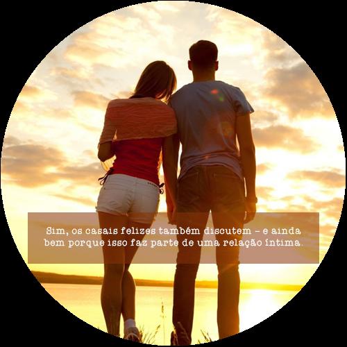 Sim, os casais felizes também discutem – e ainda bem porque isso faz parte de uma relação íntima.
