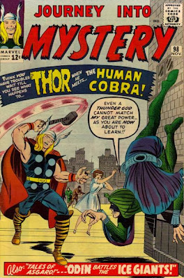Journey Into Mystery #98, Thor, Cobra and Mr Hyde