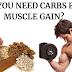 Você precisa de carboidratos para ganho muscular?
