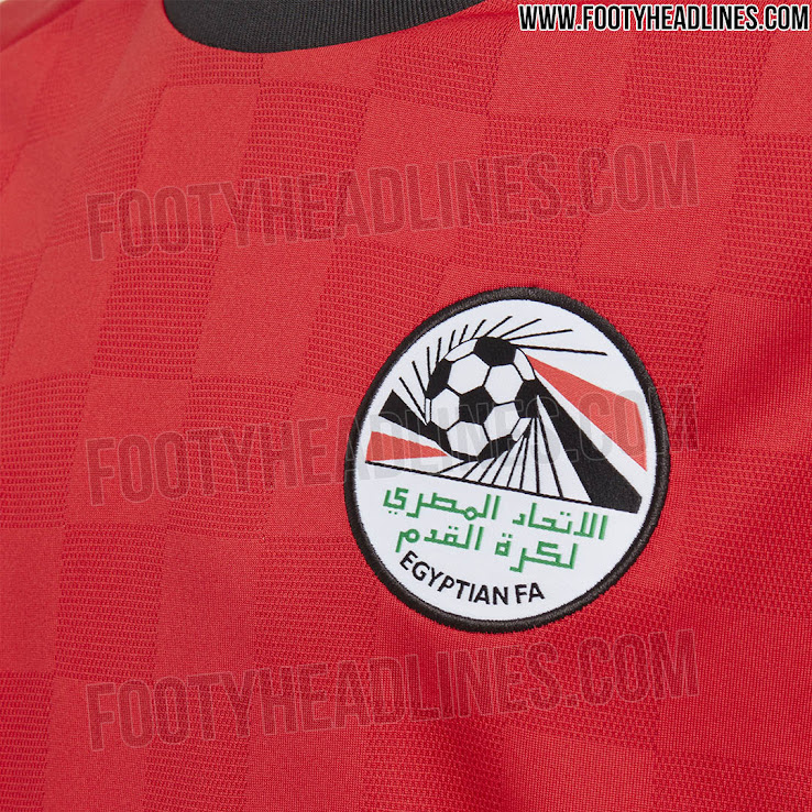 733a39208 Official: Egypt 2018 World Cup Kit Revealed - Footy Headlines
