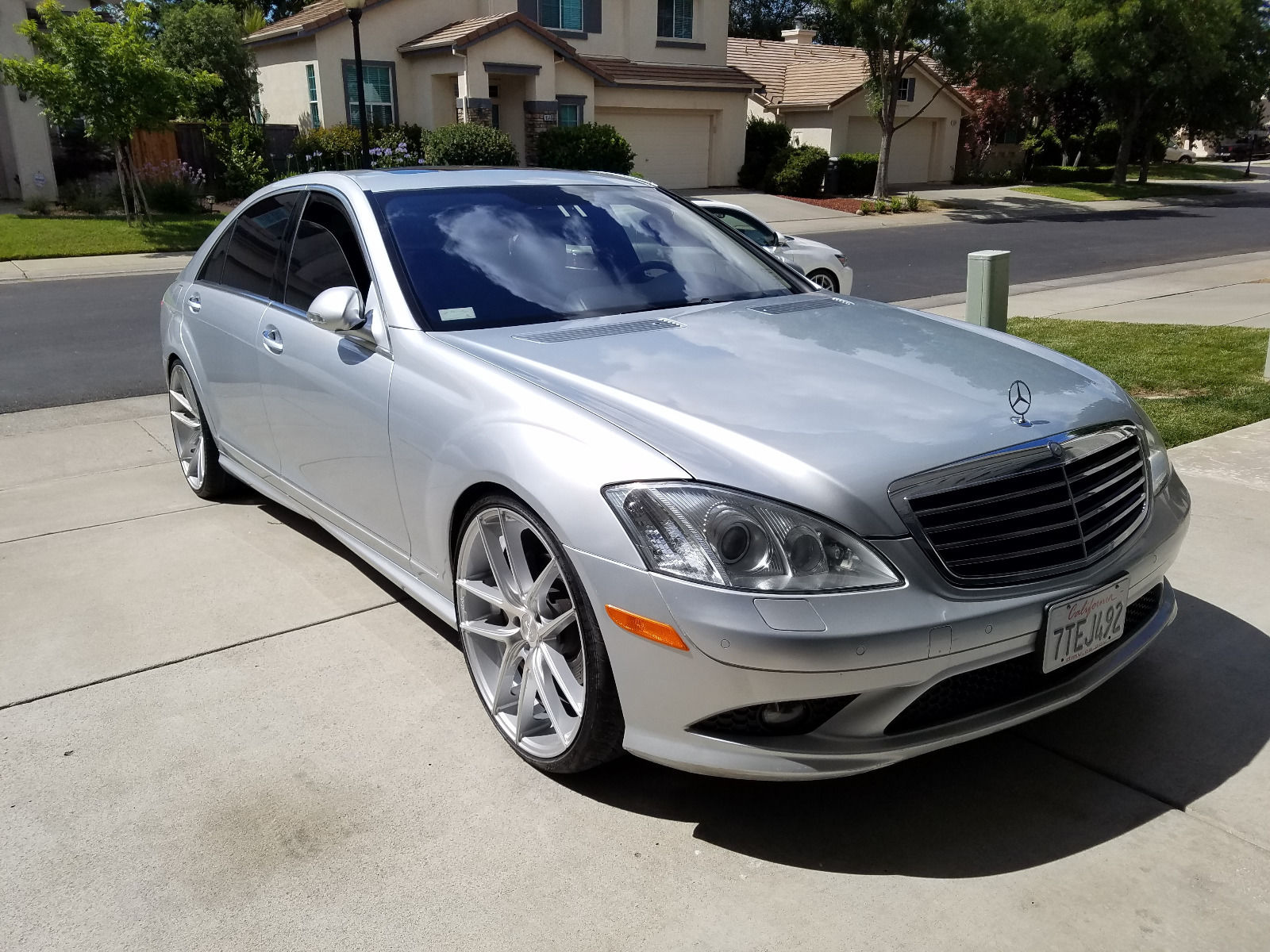 2007 mercedes benz w221 s550 on 22 niche wheels benztuning for Mercedes benz ss 550