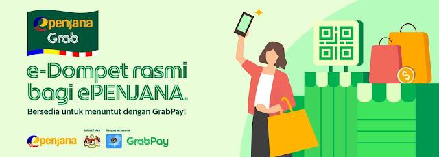 Cara Mohon dan Tebus Kredit RM50 ePENJANA Menggunakan GrabPay