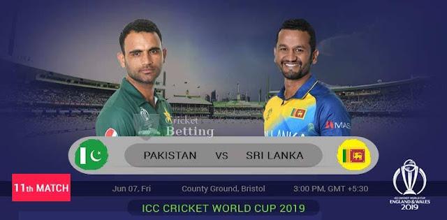 Pakistan Vs SriLanka My Dream 11 Team