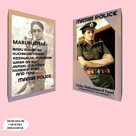 Matar Police Hausa Novel Document