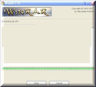 برنامج  فك ضغط عن ملف القنوات و السوفت وير لتحديث اجهزة الريسيفر