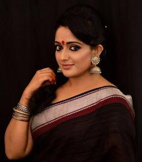 Kavya Madhavan Sari Photos, Malayalam actress