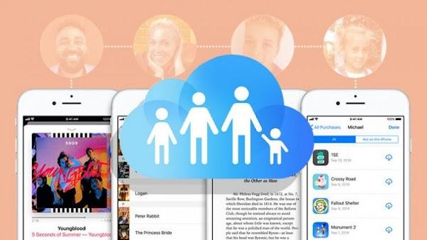 Tất tần tật về tính năng Family Sharing của Apple