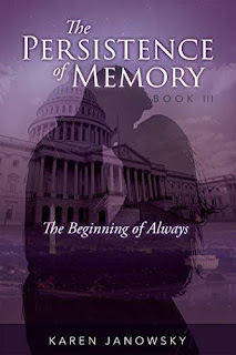 The Persistence of Memory Book 3 - a contemporary fantasy romance book promotion Karen Janowsky