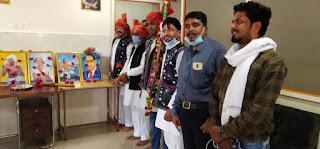 विधायक कांतिलाल भूरिया के नेतृत्व में अन्र्तराष्ट्रीय आदिवासी दिवस मनाया गया
