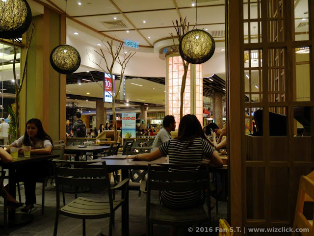 The front sitting area near the entrance of the newly renovated Ichiban Boshi Japanese restaurant