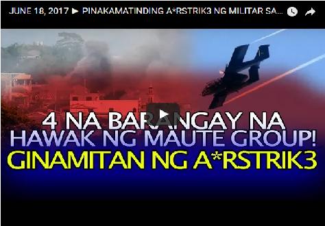 2tfqmlu BREAKING NEWS:4 NA BARANGAY NA HAWAK NG MAUTE GROUP!GINAMITAN NG A*RSTRIK3!WATCH!