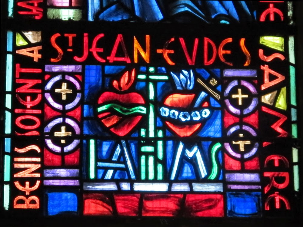 Sacre-Coeur stained glass windows