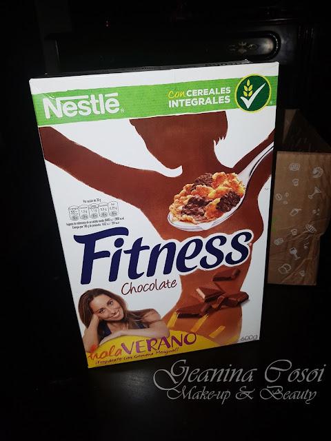 Copos de cereales Nestlé Fitness Caja Degustabox - Abril ´17