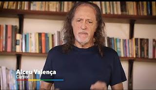Cantor Alceu Valença, entra na campanha contra o coronaviros