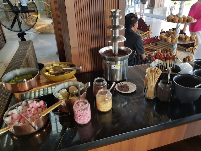 Mövenpick resort & SPA Jimbaran a Bali-Cioccolata