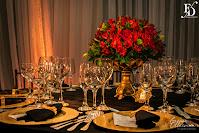 casamento com cerimônia ao ar livre e recepção no salão party room em porto alegre com decoração luxuosa sofisticada elegante em preto dourado e vermelho por fernanda dutra evento cerimonialista em porto alegre wedding planner destination wedding em portugal casamento e renovação de votos em portugal