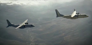 In Flight Refuelling Pesawat C295
