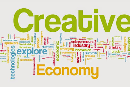 Pengertian EKONOMI KREATIF : Ciri-ciri, Manfaat, Jenis dan Contoh Industri Kreatif