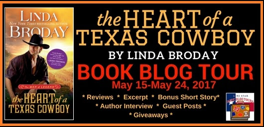 The Heart of a Texas Cowboy ~ ~ Blog Tour, Guest Post, & Giveaway!