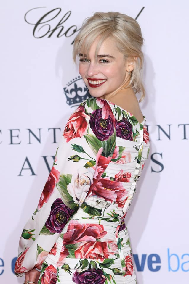Emilia Clarke : Smile and her Mesmerizing Eyes Image
