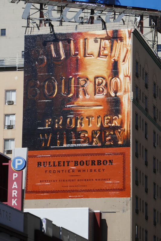 Bulleit Bourbon Frontier Whiskey billboard