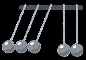 ニュートンのゆりかごのイラスト5