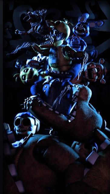 iphone creepy fnaf wallpaper