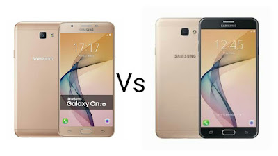 Samsung Galaxy On7 2016 Vs Samsung Galaxy J7 Prime