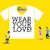"FREE ""Wear Your Love shirts"" for MOM from NIDO"