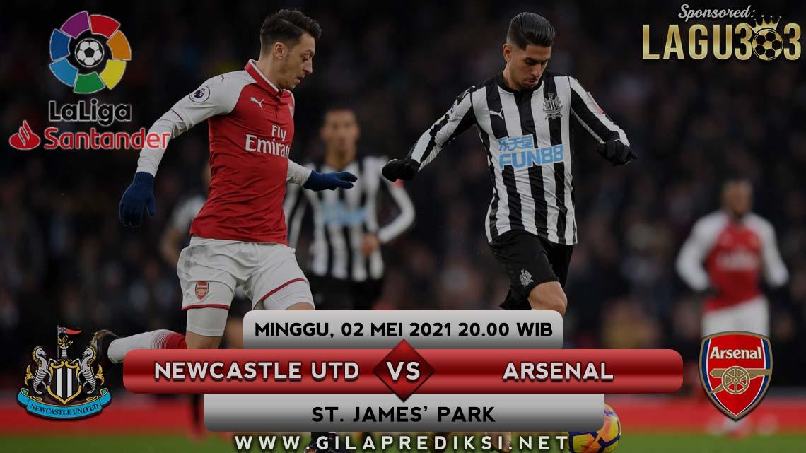 Prediksi Newcastle United vs Arsenal 2 Mei 2021 pukul 20.00 WIB