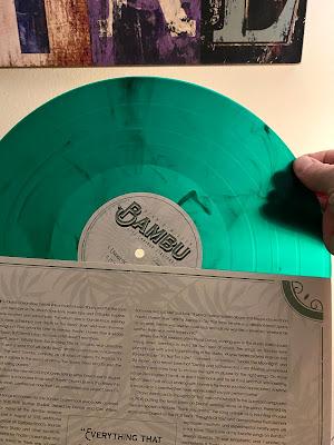 Dennis Wilson Bambu record store day green vinyl LP